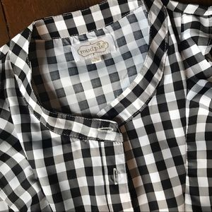 f1ee7d0f42d Mudpie Carrie ruffle gingham top